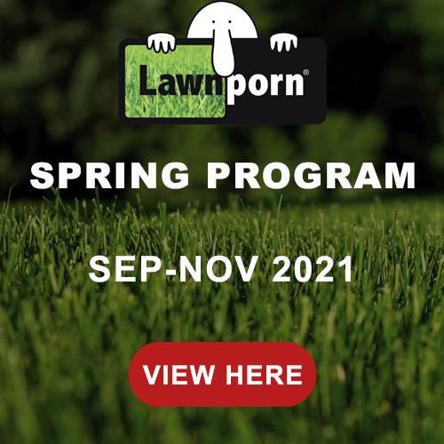 Lawnporn Spring Program